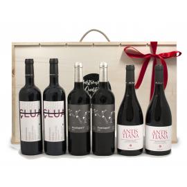 Selecció de 6 vins negres