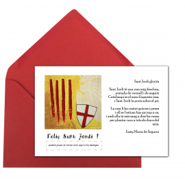 "Postal ""Sant Jordi gloriós"""