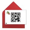 Postal amb codi QR