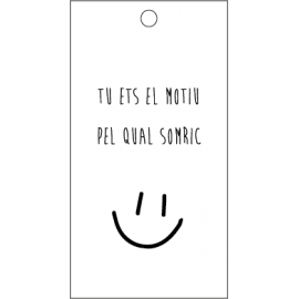 Targeta somriure
